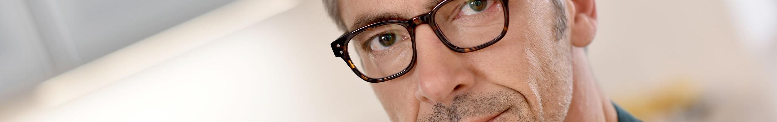 Man Wearing Glasses Boerne Dermatologist